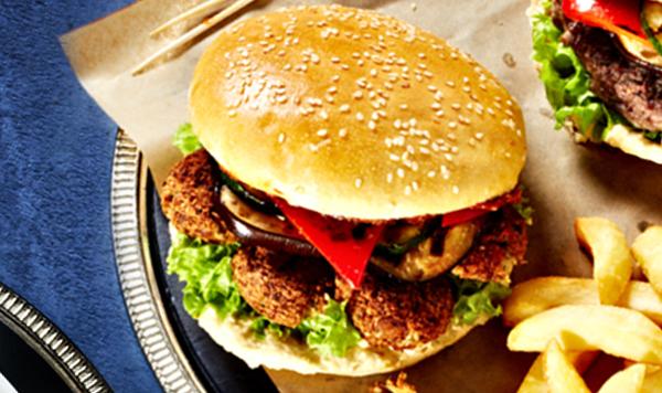 Burger z falafelem