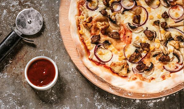 Pizza Shoarma® wieprzowa (32cm)