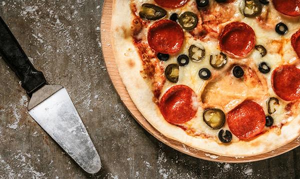 Pizza Peperoni (32cm)